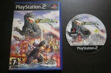 JEU Sony PLAYSTATION 2 PS2 : GODZILLA SAVE THE EARTH (sans notice, envoi suivi)