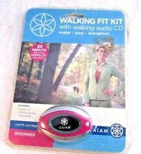GAIAM WALKING FIT KIT WITH WALKING AUDIO CD FOR BEGINNER *NEW*