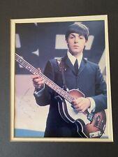 Beatles Legend Signed Photograph By Paul McCartney
