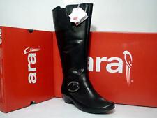 Kniehohe Stiefel Größe 43 Damenschuhe mit Blockabsatz