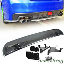 Carbon For Subaru WRX STI Sedan STI Rear Diffuser Under Lip Spoiler 2018up