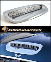 BMW MINI Cooper S Convertible R52 CHROME Bonnet Hood Vent Air Intake Scoop Cover