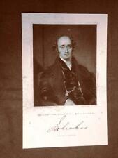John Wilson Croker Statista 20 dicembre 1780 – 10 agosto 1857