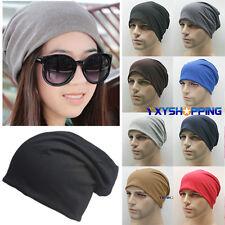 Bonnet pour Hommes Femmes Pull-over coton unisexe hiver surdimensionné souple
