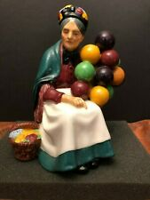 Royal Doulton England 'The Old Balloon Seller' Hn 1315 Porcelain Figurine Nice!