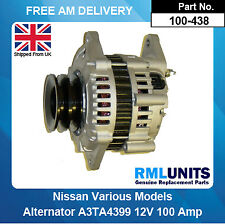 Alternator For Nissan Patrol GR 2.8 (2826ccm) Diesel RD28TI MK V Y61 1997-2000