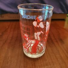 Archie Comic Publications 1973 Juice Jelly Glass - Archie Gets A Helping Hand