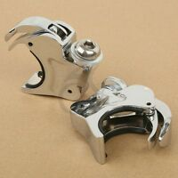 39mm Quick Release Windscreen Clamps For Harley-Davidson Dyna Sportster Custom