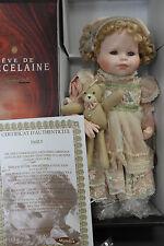 "Mundia Doll EMILY 17"" Porcelain 1999 Christine and Cécile Mint RARE! REDUCED!!"