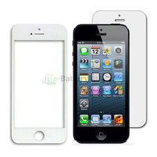 White LCD Screen Glass Lens Replacement+Film Shield Guard for Apple iPhone 5C 5S