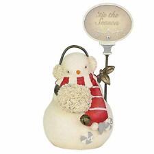 "Enesco H9 Heart of Christmas Tis The Season Snowman 3.35"" Figurine 6004116"