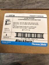 box of 5 Blackburn® WR739 Aluminum Wide Range H-Type