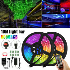 5050 RGB LED STRIP LIGHTS COLOUR CHANGING TAPE UNDER CABINET KITCHEN LIGHTING ED