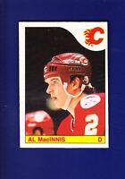 Al MacInnis RC HOF 1985-86 O-PEE-CHEE OPC Hockey #237 (VGEX+) Calgary Flames