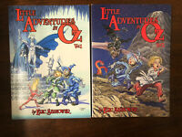 Little Adventures In OZ Volume 1 And 2 Lot IDW Kids TPB Graphic Novel