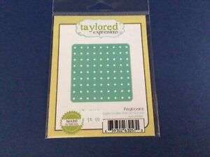 Taylored Expressions Pegboard Cutting Die