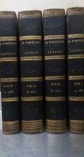Egidio Forcellini LEXICON TOTIUS LATINITATIS 1827/1831 Patavii Typis Seminarii