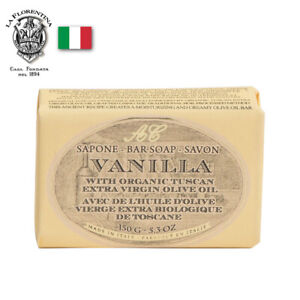 Alighiero Campostrini Organic Vanilla Soap 150g - Extra Virgin Olive Oil