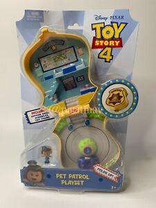 Toy Story 4 Disney Pixar Pet Patrol Playset Giggle McDimples Exclusive (NIP)