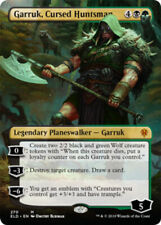 1x Garruk, Cursed Huntsman - Borderless NM-Mint, English Throne of Eldraine Exte