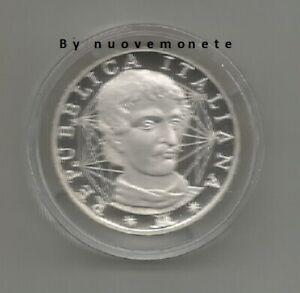 ITALIA MONETA DA 1000 LIRE G.BRUNO 2000 PROOF ARGENTO VALORE 89 EURO