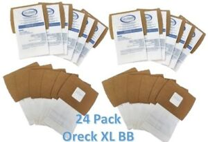 24 Pack Oreck XL Buster B (BB) Canister Vacuum Bags PKBB12DW Housekeeper Bag