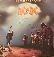 Bon Scott Signed AC/DC LP Record Album w/COA