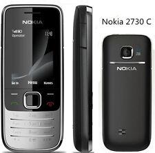 Original Unlocked SIM Nokia 2730 Classic Silver/Black 3G Mobile Cell Bar Phone