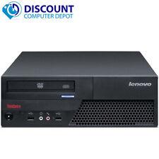 Fast Lenovo Desktop Computer Pc Intel Dual Core 2.0Ghz 4Gb 160Gb Windows 10 Home
