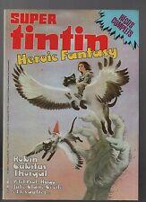 Super Tintin n°22. Heroic Fantasy. Lombard 1983. Thorgal, Cubitus...