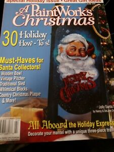 A PaintWorks Christmas Tole Painting Winter 2009 30 Holiday How To's