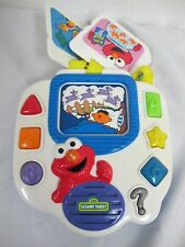 SESAME STREET VINTAGE LEARNING TOY 1999 TYCO COUNTING
