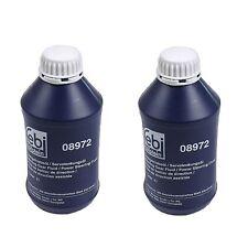 Pack Of 2 For Mercedes Bilstein Power Steering Fluid 2 Liter 000 989 88 03