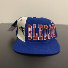 Drew Bledsoe New England Patriots Starter Snapback Hat NFL Football 90s NWT VTG