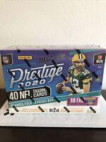 2020 NFL PRESTIGE MEGA BOX Panini Football - 2 Autographs per box! - Sealed!