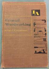 Vintage - McGraw & Hill - General Woodworking (HC,1955)