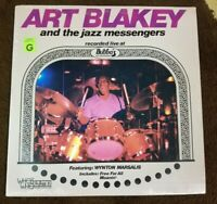 "1981 SEALED Art Blakey & the Jazz Messengers ""LIVE at BUBBA'S"" LP - MINT!"
