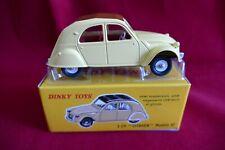 Dinky Toys 2 CV Citroën modèle  61 en 1/43 - Model Car 2 CV - Atlas N°558