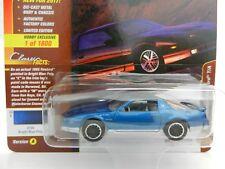 2018 Johnny Lightning *CLASSIC GOLD HOBBY B* BLUE 1985 Pontiac Firebird T/A