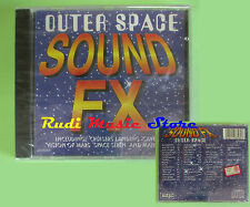 CD OUTER SPACE SOUND FX compilation SIGILLATO no mc lp dvd vhs (C24)