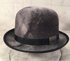 "NEW KANGOL ""AGED BOWLER"" K5120HT Men's Hat Bowler  Litefelt Wool Black Small"