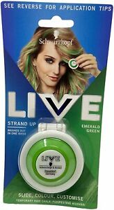 Schwarzkopf Live Strad Up Express Your Colour Creativity Emerald Green 3.5g