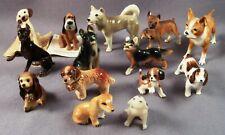 Hagen Renaker Dogs Bone China Miniature Shadow Box Figures Lot Doberman Pinscher