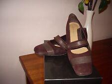 "Women's heels ""Jane Debster"" Digby, size 7.5, leather upp/sock.,grape suede ."