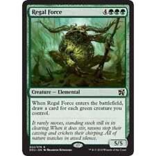 1x REGAL FORCE - Rare - Duel Deck/Eternal MAsters MTG - NM - Magic the Gathering