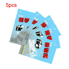 5X 50 Sheets Soft Camera Lens Optics Tissue Clean Paper Wipe Booklet White Set