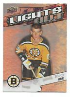 2018-19 Upper Deck Overtime Lights Out #LO10 Bobby Orr Boston Bruins