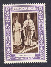 "GB 1937 Coronation ""Purple"" - Their Majesties-  Mint"