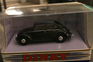MATCHBOX - DINKY COLLECTION - 1951 VOLKSWAGEN BEETLE CAR - BLACK - 1:43 - DY-6C