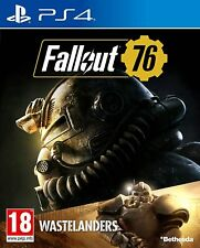 Fallout 76 PS4 Game Wastelanders -  New